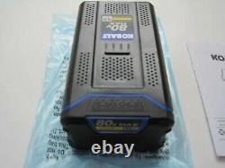 NEW KOBALT 80v 5.0Ah MAX LITHIUM-ION Battery KB580-06 80 Volt 5.0 Amp Ah