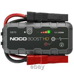 NOCO Boost HD GB70 2000 Amp 12-Volt UltraSafe Lithium Jump Starter