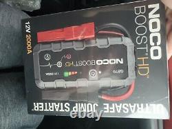 NOCO Boost HD GB70 2000 Amp 12-Volt UltraSafe Portable Lithium Jump Starter
