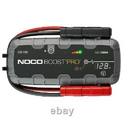 NOCO Boost Pro GB150 Jump Starter 3000 Amp, 12-Volt 9L Gasoline/7L Diesel Engine