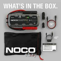 NOCO Boost Pro GB150 Jump Starter 3000 Amp, 12-Volt, Li-ion Battery with hard case