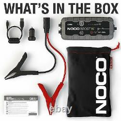 NOCO Boost XL GB50 1500 Amp 12-Volt UltraSafe Lithium Jump Starter Box Car Truck