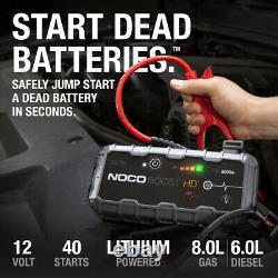 NOCO Genius Boost HD GB70 2000-Amp 12-Volt UltraSafe Lithium Jump Starter