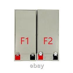 NPP 12V 9Ah 12Volt 9amp Rechargeable SLA Battery For APC BE550 RBC110 PS-1290 F2