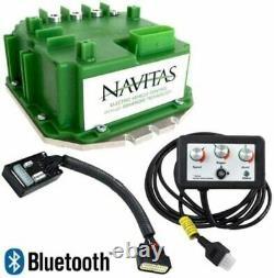 Navitas 600 Amp EZGO TXT with DCS 36 Volt Golf Cart Controller with Dash Control
