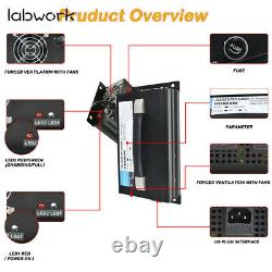 New 48 Volt 15 AMP Battery Charger For Club Car Golf Cart Round 3 Pin Plug