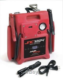 New JNC1224 Solar 12/24 Volt Jump N Carry! 1700/3400 Amp! Portable Jump Starter