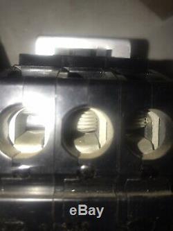 New Old stock Zinsco Q243100 100 Amp 240 volt 3 phase plug in breaker