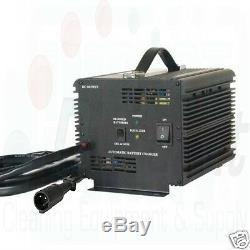 New Schauer 48v 48 volt 15 amp Golf Cart, Battery Charger Club Car plug