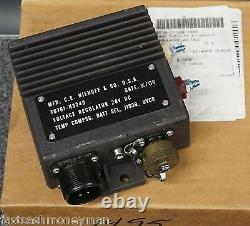 Niehoff N3240 Voltage Regulator For N1609-1 570 Amp Military 24 Volt Alternator