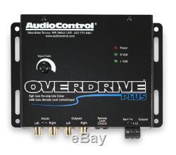 OVERDRIVE PLUS AUDIO CONTROL CAR PRE AMP LINE DRIVER 24 db GAIN 13 VOLTS NEW