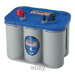 Optima 8016-103 D34M 12-Volt BLUE TOP Starting and Deep Cycle Marine 870 amps