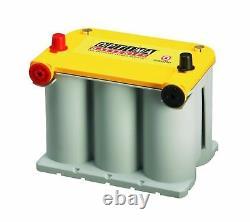 Optima Dual Purpose Battery Yellow Top 12 Volt 48 Amp Car Truck Accessory Part