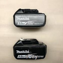 Original Makita 18 volt Lithium Batteries 2 pk 5.0 amp New BL1850B-2 2 DAY SHIP