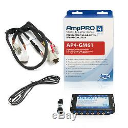 PAC AP4-GM61 Advanced Amplifier Integration Interface for GM with Bose Retains Amp