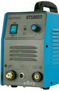 PLASMA CUTTER 110 OR 220 VOLTS 1/2 Clean Cut 50 Amp