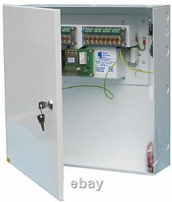 PSU12V8A8OC 12Volt @ 8 Amp Power Supply Unit with Battery Back up