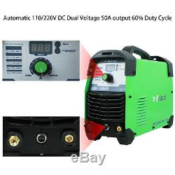 Plasma Cutter 50Amps 110/220V Dual Volts AC 1/2 Clean Cut Inverter Cutting Mach