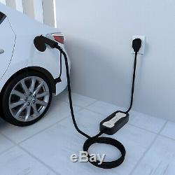 Portable EV Charger Level2 Charging Cable 10A/16Amp J1772 NEMA 6-20 level 1 EVSE