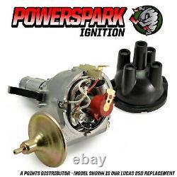 Powerspark 45D4 Electronic Distributor Replaces 25D4 & 12 Volt 3 Ohm Sports Coil