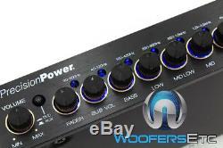 Precision Power E. 7 Band Parametric Digital Equalizer 7 Volt Stereo Pre Amp New