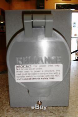 Reliance Generator Rainproof RECEPTACLE Kit 50 AMP 120/250 volt Twistlock PB50