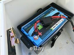 Relion RB100, 12 Volt, 100 Amp Hour Lithium Battery. LiFePO4, Solar, RV