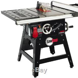 SawStop CNS175-SFA30 110-Volt 30-Inch 15-Amp Contractor Table Saw Fence System