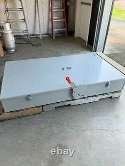 Siemens 1200 amp 240 volt 1Phase NM3R Heavy Duty Disconnect/Switch HF228NR