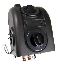 Skid Steer Cab Heater Hot Water 12 Volt, 2 Speed Fan, 200 CFM, 6 Amps, 13,200 BTUs