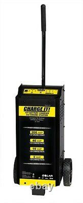 Solar 4735 CHARGE IT! 6/12 Volt 40/20/5/200 Amp Wheeled Battery Charger