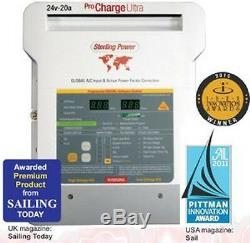 Sterling ProCharge Ultra Battery Charger (same as ProNautic) 12 Volt / 60 Amp