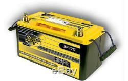 Stinger SPV70 12 Volt Agm Deep Cycle Battery Power Series 1050 Amp 70Ah 2100Watt