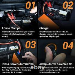 SuperCap 2 12Volt 800Amp Portable Battery-Less Jump Starter from Autowit