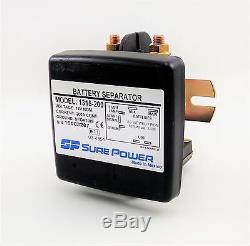 Sure Power 1315-200 Battery Separator 12 Volt 200 amp Bi Directional
