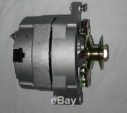 Tractor or Car 6 volt 60 amp 1 wire alternator Positive Ground GM with pulley