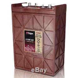 Trojan L16H-AC 6v 6 volt 435 Amp hour solar rv Lead Acid deep cycle battery
