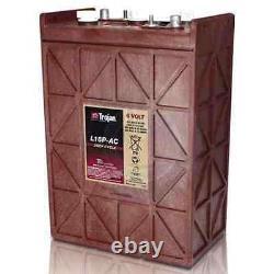 Trojan L16P-AC 6v 6 volt 420 Amp hour solar rv Lead Acid deep cycle battery 420a