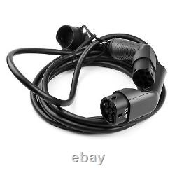 Typ 2 EV Ladekabel Elektroauto Ladegerät 16A 3 phase EVSE 5m Kabel for wallbox