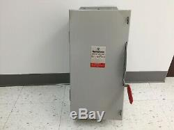 Westinghouse Gfn323n 100 Amp 240 Volt Single Phase Fusible Indoor Disconnect