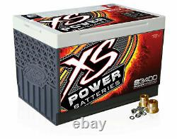 XS Power S3400 12 Volt AGM 3300 Amp Sealed Starting/Racing Battery/Power Cell