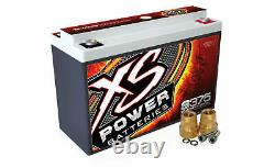 XS Power S375 12 Volt AGM 800 Amp Sealed Starting/Racing Battery/Power Cell
